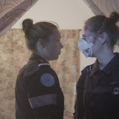 Vitals (2014). Katherine Cullen, Dayna Miller. Photo by Mike McLaughlin.