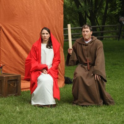 Passion Play (2013). Julie Tepperman, Richard Binsley. Photo by Keith Barker.