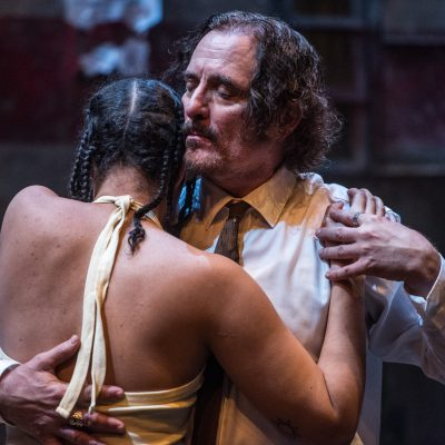 Jerusalem (2018). Shakura Dickson, Kim Coates. Photo by Dahlia Katz.