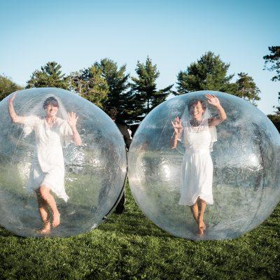 Something Bubbled, Something Blue (2020). Margaret Thompson & Caitlyn MacInnis. Photo by Scott Cooper.