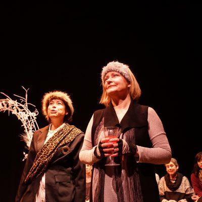 A Midwinter Night's Dream (2014). Tobi Kaufman, Holly Kirkconnell. Photo by Sam Godfrey.