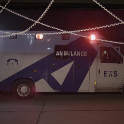 Vitals (2014). The Ambulance. Photo by Mike McLaughlin.