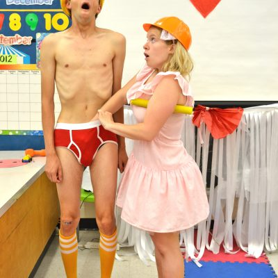 Mr. Marmalade (2012). Ishai Buchbinder, Amy Keating. Photo by Shira Leuchter.