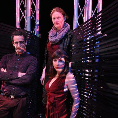 Terminus (2014). Adam Lazarus, Sarah Dodd, Nicola Elbro. Photo by Nick Blais.