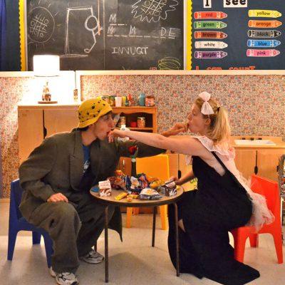 Mr. Marmalade (2012). Ishai Buchbinder, Amy Keating. Photo by Shira Leuchter