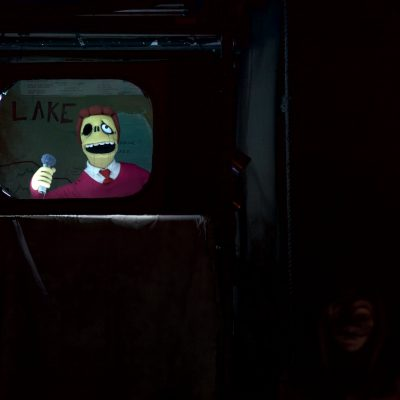 Mr. Burns (2015). Troy McClure puppet by Marcus Jamin. Photo by Neil Silcox.
