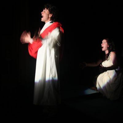 Passion Play (2013). Andrew Kushnir, Amy Keating. Photo by Keith Barker.