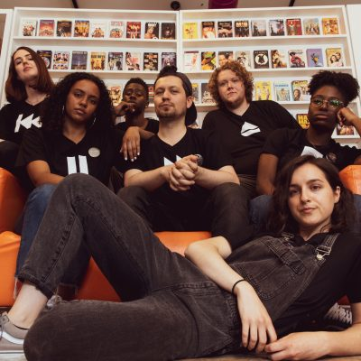 Zoe Danahy, Rais Clarke-Mendes, Dante Prince, Nick Porteous, Francis Melling, Raylene Turner, Kavone Manning. Photo by Neil Silcox.